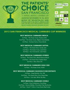 2013 SFMCC Winners